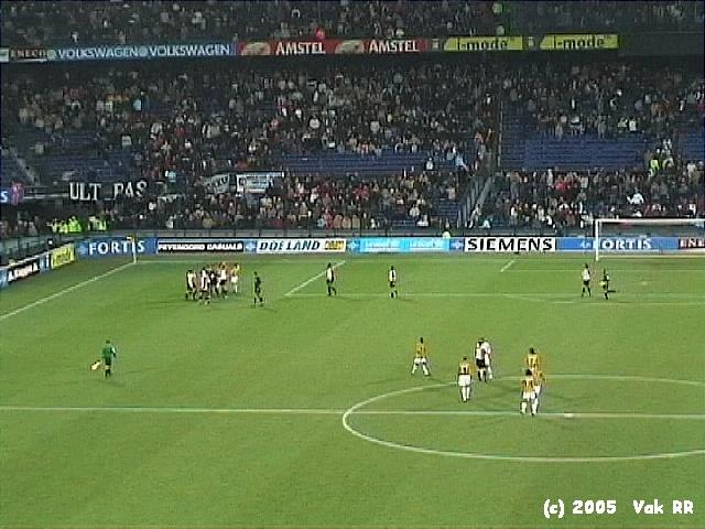 Feyenoord - Vitesse 1-2 23-01-2005 (1).JPG