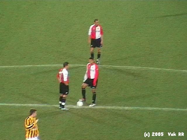 Feyenoord - Vitesse 1-2 23-01-2005 (14).JPG
