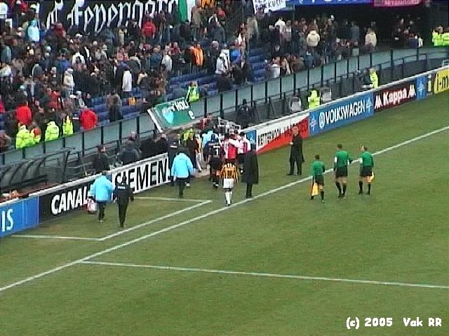Feyenoord - Vitesse 1-2 23-01-2005 (16).JPG