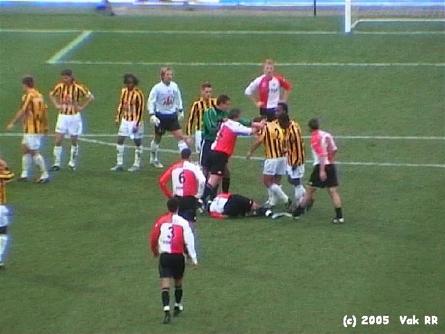Feyenoord - Vitesse 1-2 23-01-2005 (17).JPG