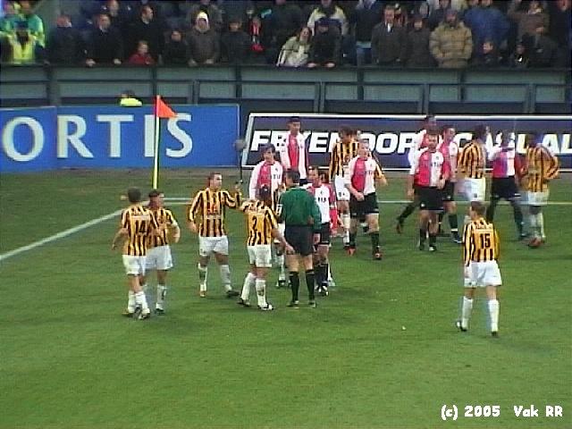 Feyenoord - Vitesse 1-2 23-01-2005 (2).JPG