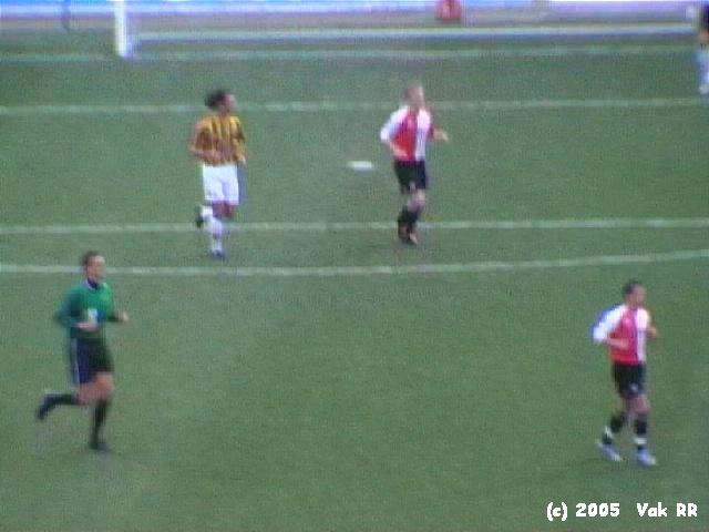 Feyenoord - Vitesse 1-2 23-01-2005 (21).JPG