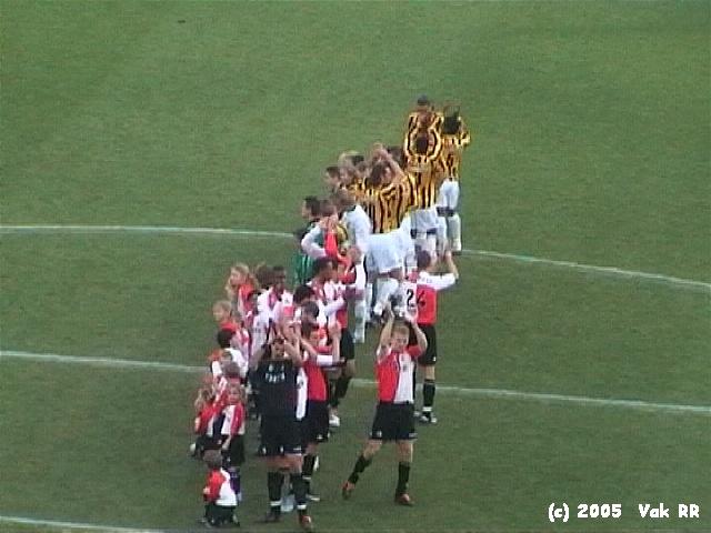 Feyenoord - Vitesse 1-2 23-01-2005 (23).JPG