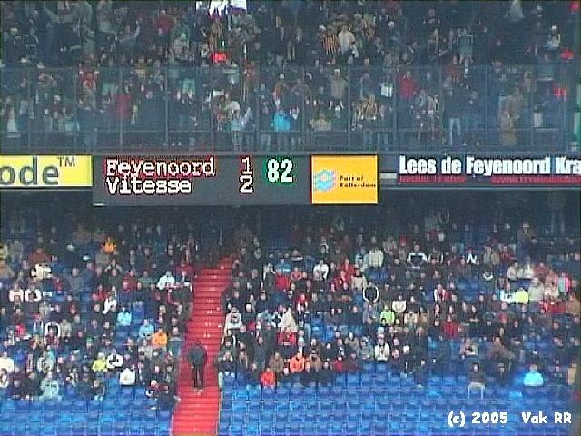 Feyenoord - Vitesse 1-2 23-01-2005 (3).JPG