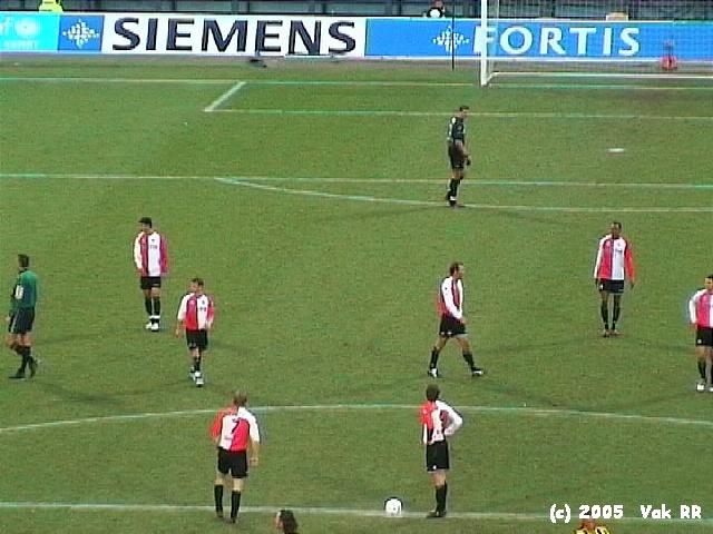 Feyenoord - Vitesse 1-2 23-01-2005 (5).JPG