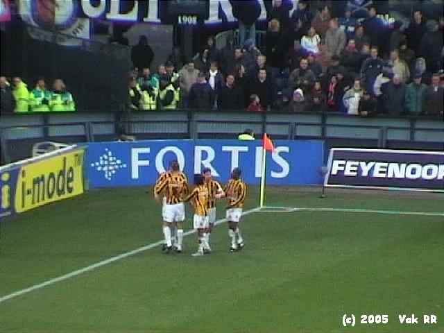 Feyenoord - Vitesse 1-2 23-01-2005 (6).JPG