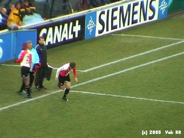 Feyenoord - Vitesse 1-2 23-01-2005 (7).JPG