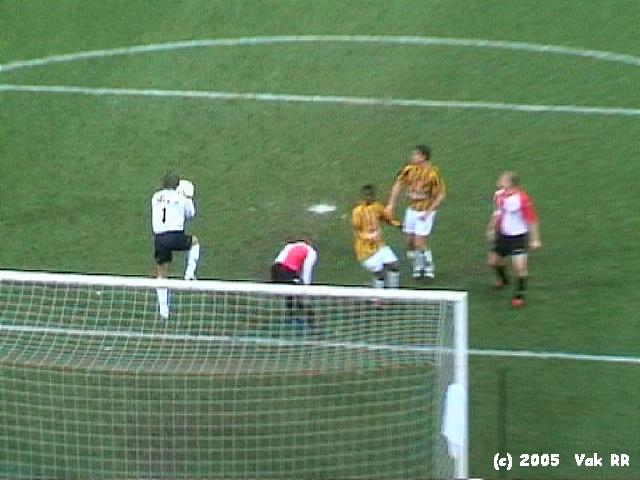 Feyenoord - Vitesse 1-2 23-01-2005 (8).JPG
