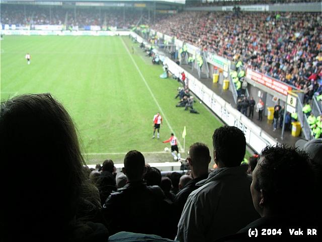 Heerenveen - Feyenoord 2-2 28-11-2004 (16).JPG
