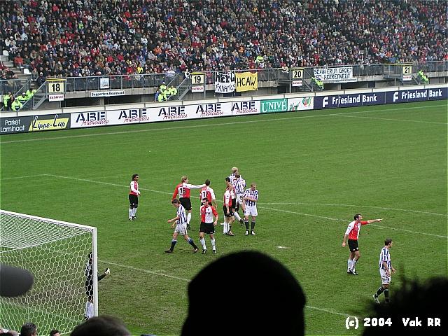 Heerenveen - Feyenoord 2-2 28-11-2004 (23).JPG