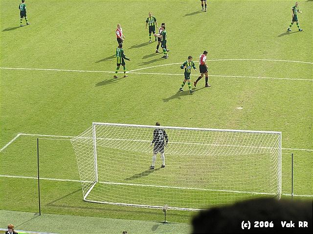 Feyenoord - Ado den Haag 0-2 26-03-2006 (13).JPG
