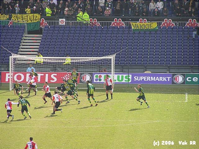 Feyenoord - Ado den Haag 0-2 26-03-2006 (16).JPG