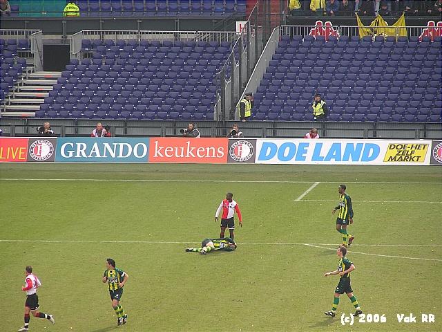 Feyenoord - Ado den Haag 0-2 26-03-2006 (21).JPG