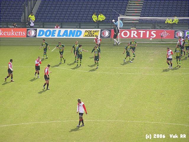 Feyenoord - Ado den Haag 0-2 26-03-2006 (24).JPG