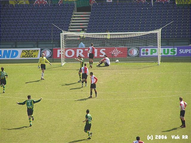 Feyenoord - Ado den Haag 0-2 26-03-2006 (9).JPG