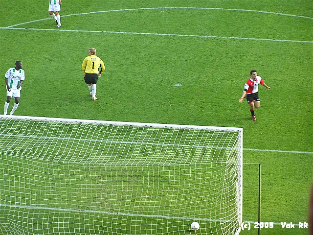 Feyenoord - FC Groningen 4-1 16-10-2005 (12).JPG