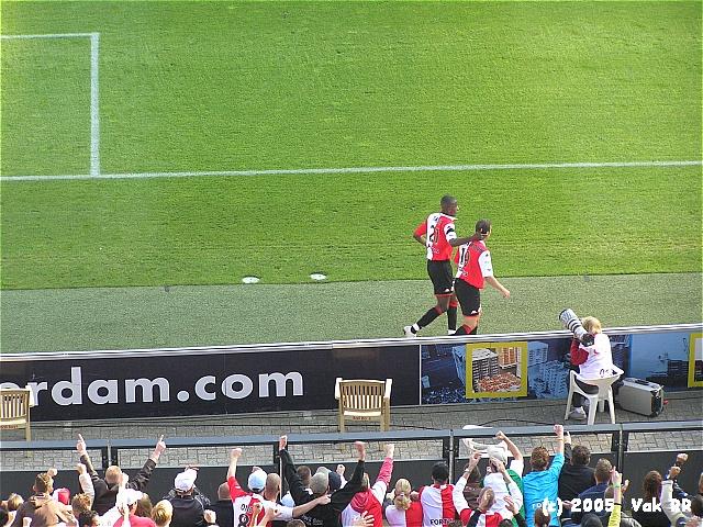 Feyenoord - FC Groningen 4-1 16-10-2005 (30).JPG