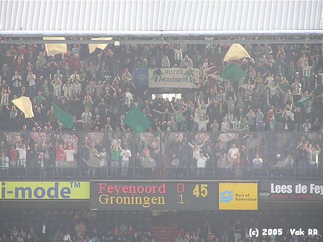Feyenoord - FC Groningen 4-1 16-10-2005 (34).JPG