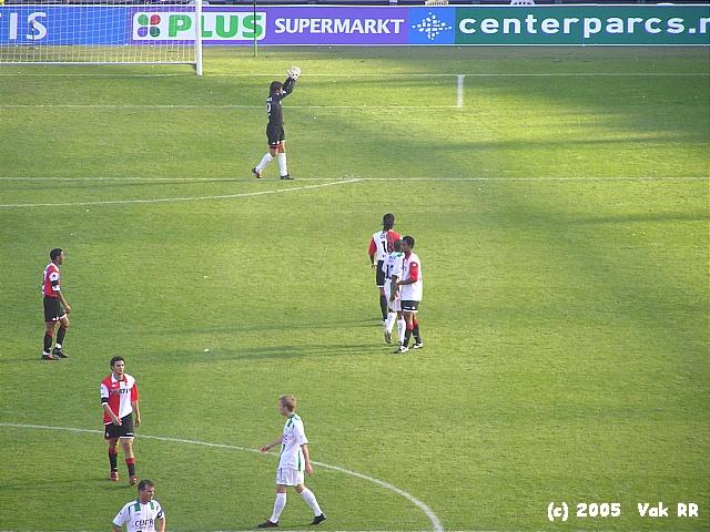 Feyenoord - FC Groningen 4-1 16-10-2005 (8).JPG