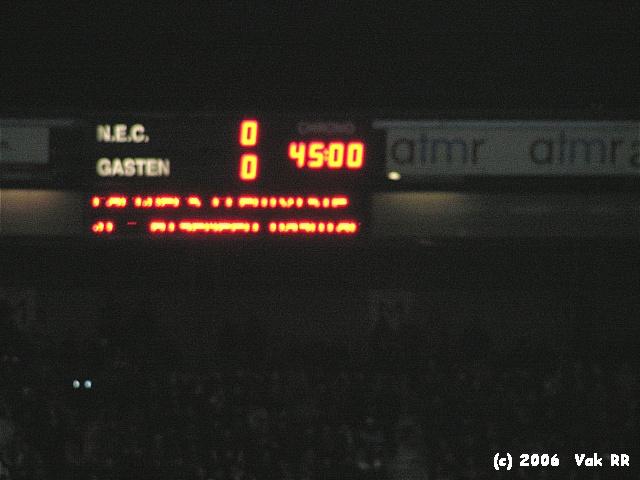 NEC - Feyenoord 1-2 08-02-2006 (15).jpg