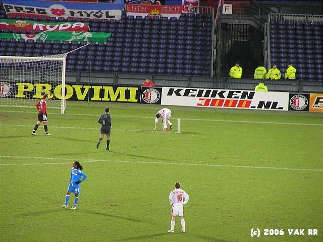 Feyenoord - Wisla Krakou 3-1 13-12-2006 (26).JPG
