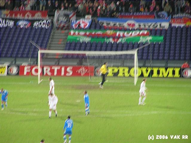 Feyenoord - Wisla Krakou 3-1 13-12-2006 (42).JPG